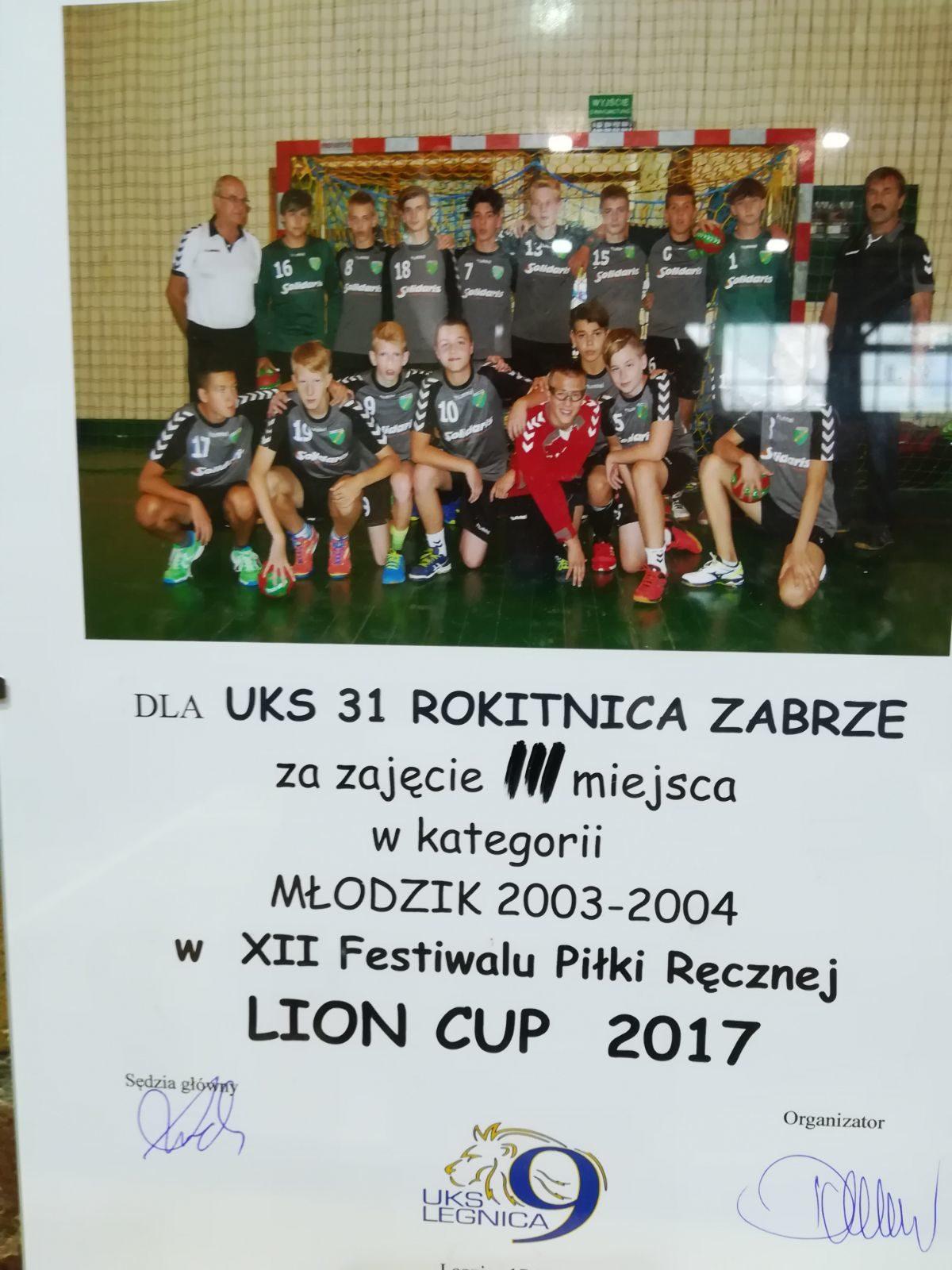 Lion Cup 2017 - mamy trzecie miejsce