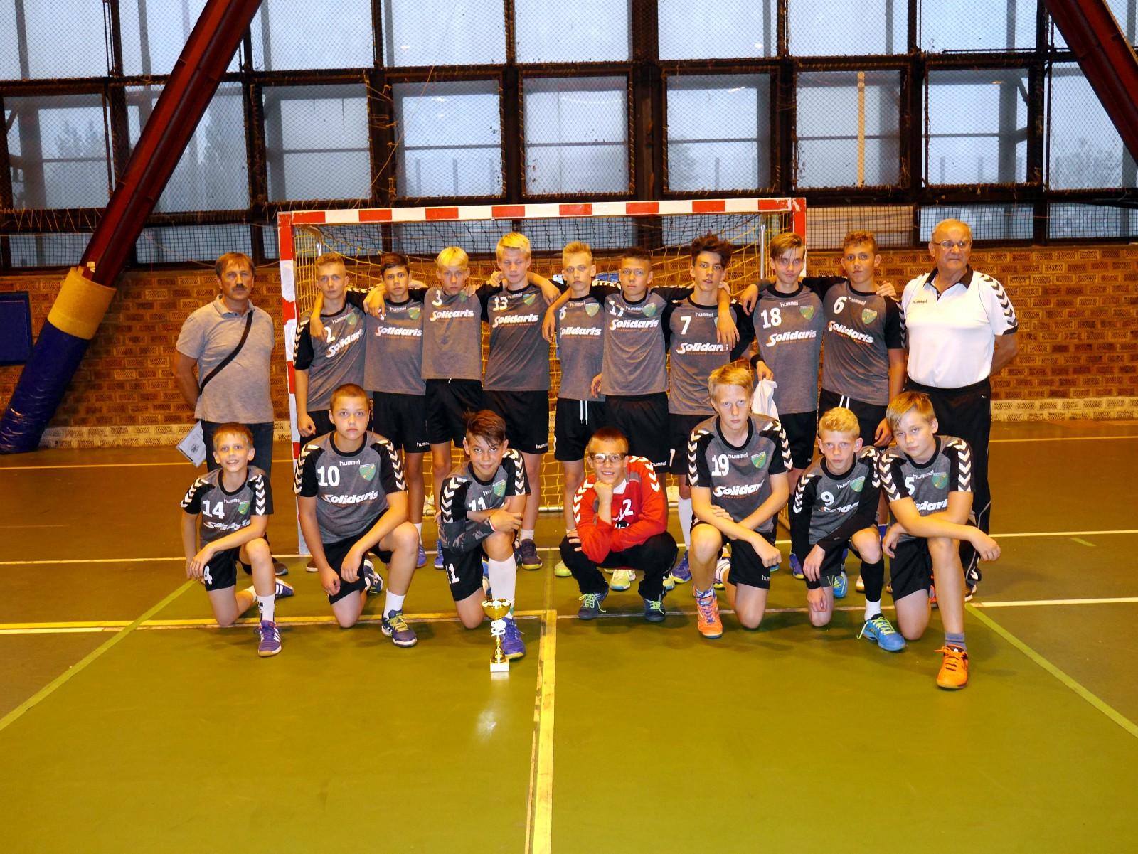 Młodzicy - 2 miejsce w Silesia Handball Cup